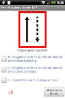 Screenshot of Permis bateau rivière ENF