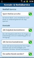 Screenshot of ErsteBank/Sparkasse netbanking