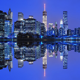 NY Skyline by Rahul Phutane - City,  Street & Park  Skylines ( rahulphutane, ny skyline, new york,  )