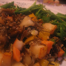 Wild Rice-Sweet Potato Salad With Pears
