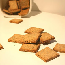 Seeded Crackers - Alton Brown