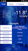 Screenshot of Weather & Flip Clock Widgets