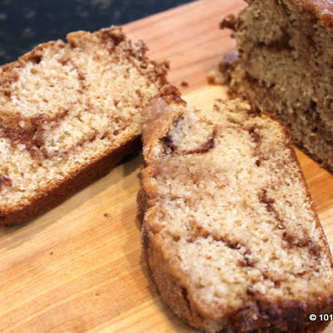 Cinnamon Sugar Swirl Quick Bread
