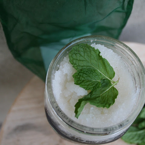 Spearmint Sugar Scrub