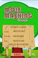 Screenshot of Mole Mashing Free