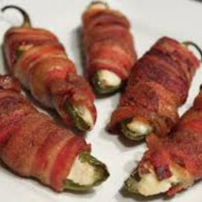 Worlds Best Bacon Wrapped Jalapeño Poppers