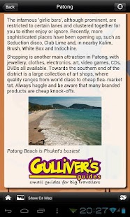 Phuket Travel - Gulliver's - screenshot