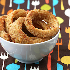 OMG Oven Baked Onion Rings