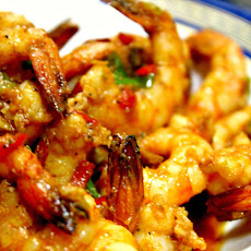 STIR-FRIED SRIRACHA SHRIMPS