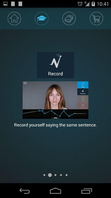 Nativox: your english tutor Screenshot 3