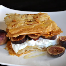 Fig Phyllo Breakfast Stacks