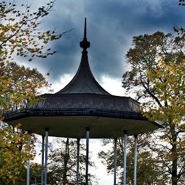 by James Blyth Currie - City,  Street & Park  City Parks