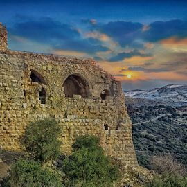 Nimrod Fortress by Zion 1000bc - Buildings & Architecture Decaying & Abandoned