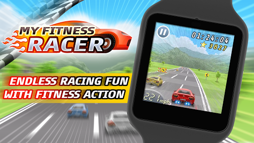 My Fitness Racer - screenshot