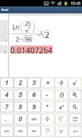 Screenshot of RealMath Calculator Free