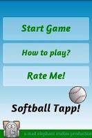 Screenshot of Baseball Games Softball Juggle