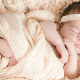 Beautiful Mia by Jennifer Brooke - Babies & Children Babies ( baby, cute, pretty, photography, newborn )