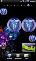 Screenshot of Medical Symbol doo-dad blue