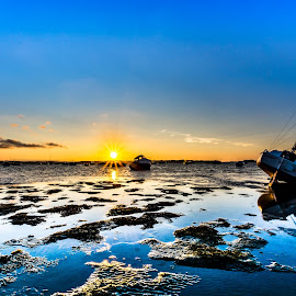 Tides out by Brian Noel - Landscapes Sunsets & Sunrises