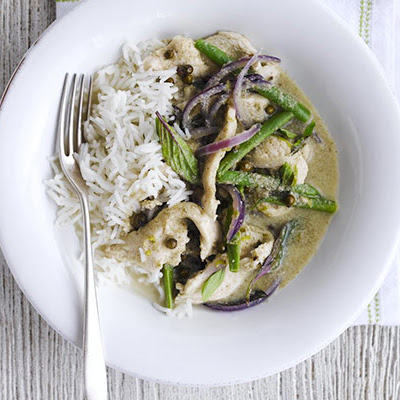 Speedy Green Chicken Curry
