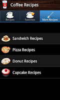 Screenshot of Coffee Recipes
