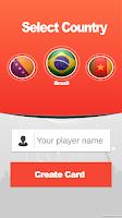 Screenshot of kickCard - My Panini Sticker