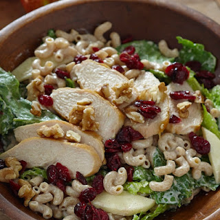 Autumn Chicken, Walnut and Apple Romaine Salad