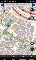 Screenshot of Vienna Map
