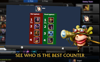 Screenshot of CounterPicks League of Legends