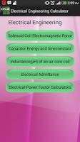 Screenshot of Engineering Calculator