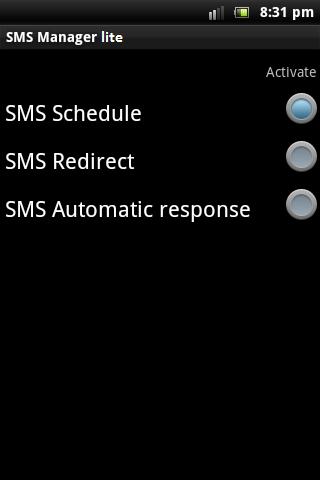 短信管理 lite