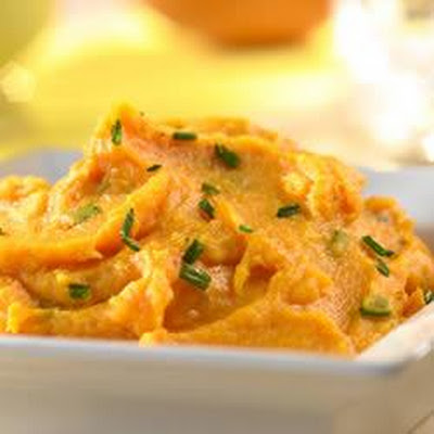 Sweet Potato and Parsnip Puree