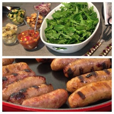 Italian Sausage and Artichoke Salad