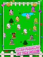 Screenshot of Jewels & Friends: Dog's game