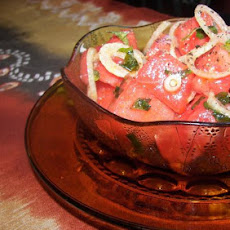 Watermelon/Mint Salad