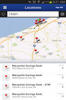 Screenshot of Mobile Marquette