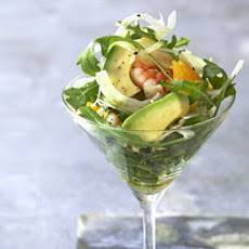 Avocado, Prawn & Fennel Cocktails