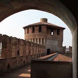 Castle of Soncino by Pietro Ebner - Buildings & Architecture Public & Historical ( soncino, medievale, castello, castle, medieval,  )