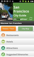 Screenshot of San Francisco City Guide