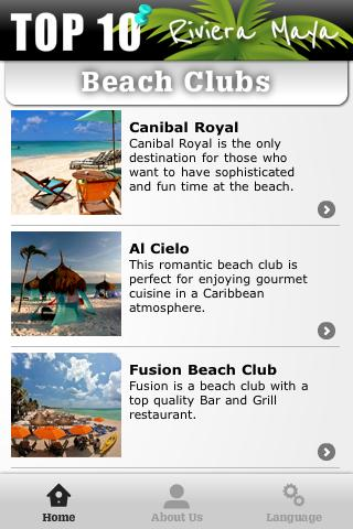 Beach Clubs Riviera Maya