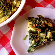 Very Rustic Spinach and Feta Tart