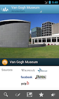 Screenshot of Amsterdam Travel Guide Triposo