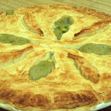 Deep Dish Cajun Chicken Pot Pie