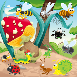 Worms and Bugs for Toddlers !