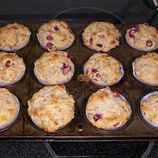 Cranberry-Marmalade Holiday Muffins