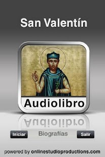 San valentin AudioBio - screenshot