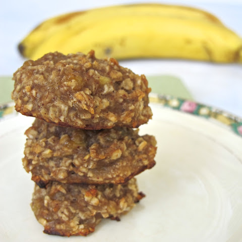 Healthy Banana Cookies