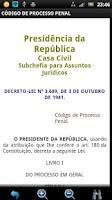 Screenshot of Código de Processo Penal FREE