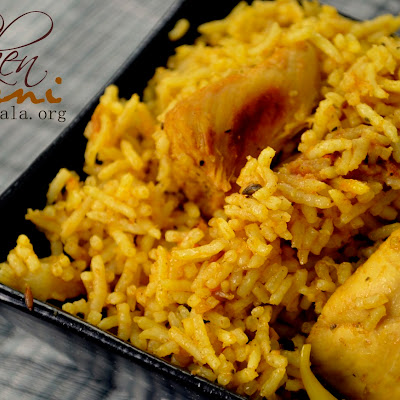 Indian Style Chicken Briyani