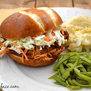 Crock Pot Raspberry Chipotle Pulled Chicken